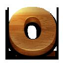 wooden, opera icon