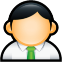 User Administrator Green icon