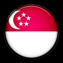singapore, country, flag icon