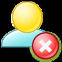 Delete group icon