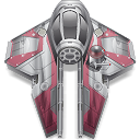star wars, starfighter, anakin icon