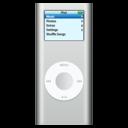 ipod,nano,silver icon