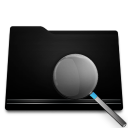 black, seek, folder, find, search icon