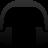 headset, music, headphone icon