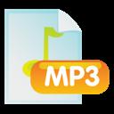 file, mp3, document icon