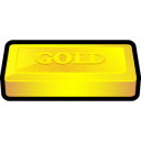 gold, bar icon