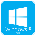 app, windows, apps, windows 8, store, smartphone icon