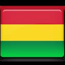 Bolivia, Flag icon