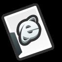 Internet document icon