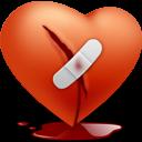 valentine, broken, love, heart icon