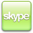 skype,green icon