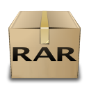 mime, rar, gnome icon