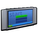 flatscreen, plasma, tv icon