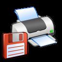Hardware Printer Floppy icon