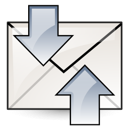 send, mail, receive icon