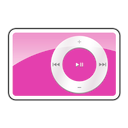 ipod, shuffle, pink, 2g icon