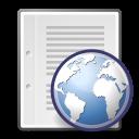text, html icon