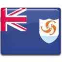 anguilla,flag,country icon