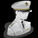 pilot, captain icon