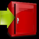locker,download,descending icon