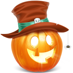 sale, pumpkin icon