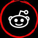 social, reddit, media, logo icon