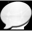 iChat Milk Black Network icon