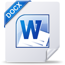 docx, win, file, document icon