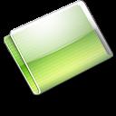 Folder Alternative lime icon