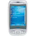 handheld, phone, telephone, tel, mobile, qtek 9100 128, mobile phone, smart phone, qtek, cell, cell phone, smartphone icon