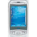 handheld, phone, telephone, tel, mobile, qtek 9100 128, mobile phone, smart phone, qtek, cell, cell phone, smartphone icon
