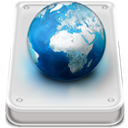 Disk, Hard, Server icon