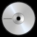 hd, dvd, disc, rw icon