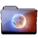 planet folder icon