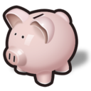 money, savings, oink, bank, piggy icon