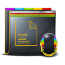 file, folder, document, paper icon