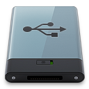 Graphite USB B icon