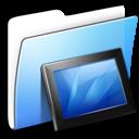 aqua, folder, smooth, wallpaper icon