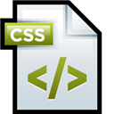 Adobe, Css, Dreamweaver, File icon