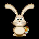 Bunny, Easter, Egg icon
