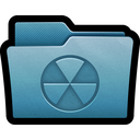 burnable, folder, mac, write, burn, cd icon
