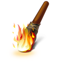 Fire, Torch icon