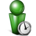 absent, green icon