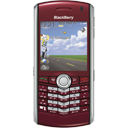 Blackberry, Pearl, Red icon