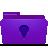 Folder, Ideas, Violet icon