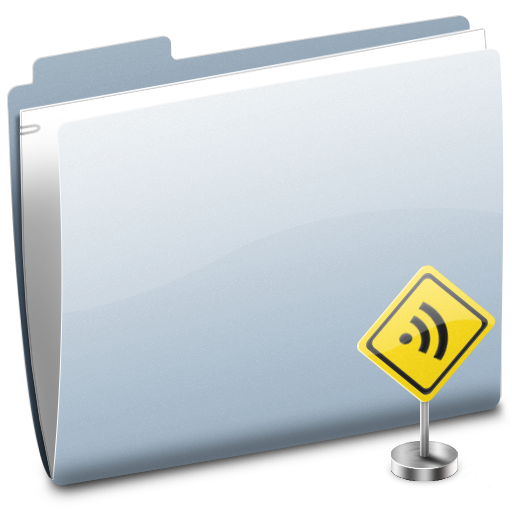 folder, feed, subscribe, sign, rss icon