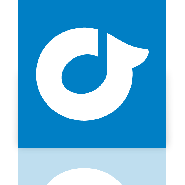 rdio, mirror icon