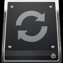 restore, drive icon