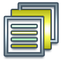 document, text, paper, file icon