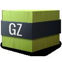 gzip, mime, application, gnome icon